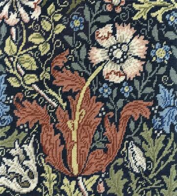 DMC Tapestry Kit - Compton by J H Dearle - V & A Museum Collection
