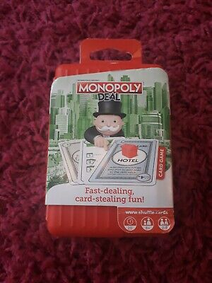 FAMILY Shuffle Monopoly Deal Card Game-  BRAND NEW FREE DELIVERY