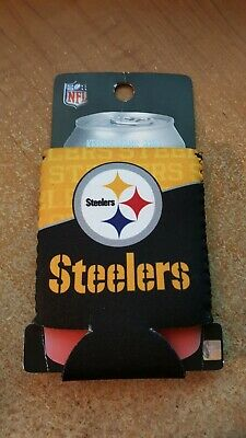 be082f24 KOLDER COLLAPSIBLE CAN BOTTLE COOLIE KOOZIE Pittsburgh STEELERS NEW NIP NFL