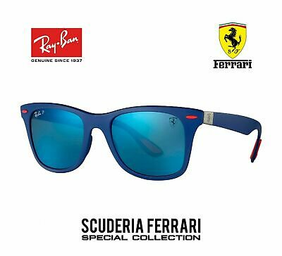 Rayban RB4195M F604H0  Scuderia Ferrari Collection Occhiali ray ban blu