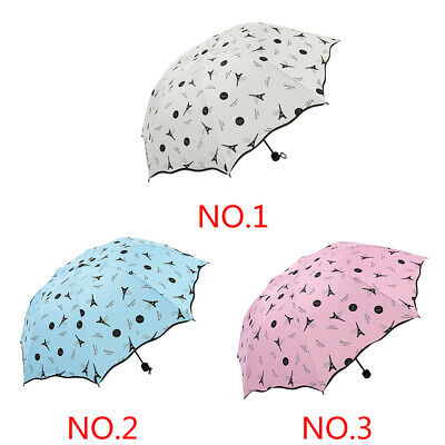 Mini Windproof Double Layer Upside Down Inverted Folding Handle Reverse Umbrella