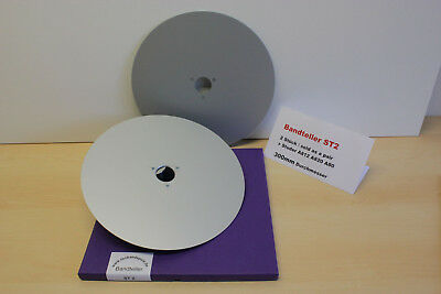 "Bandteller/ Tape Record Plate 12""  f. Studer A812,A820,   1 pair,  Art.ST2"