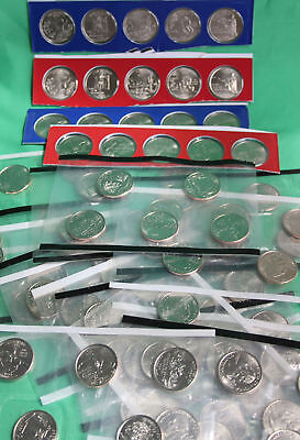 1999 thru 2009 State & Territory Quarter Collection 112 Coin US Mint Cello P + D