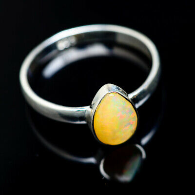 Gemstone Ethiopian Opal 925 Sterling Silver Ring Size 7 Ana Co Jewelry R941189 Online Discount