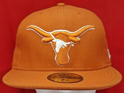 size 40 3883d cf56e Texas Longhorns NCAA New Era 59Fifty fitted cap hat