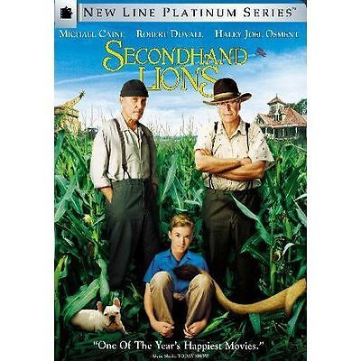 Secondhand Lions DVD Platinum Series Fullscreen - Usually ships within 12 hrs!!!