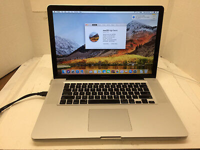 "Apple MacBook Pro 6,2 15"" Intel Core i5 2.4GHz 500GB HDD 8GB RAM (Mid-2010)"