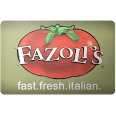 Fazoli's Gift Card $30 Value, Only $28.50! Free Shipping!