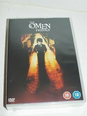 BRAND NEW The Omen Trilogy 1-3 dvd box set Factory sealed packaging