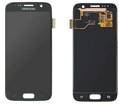 Original Samsung Galaxy S7 G930F LCD Display Touchscreen Bildschirm Glas Schwarz