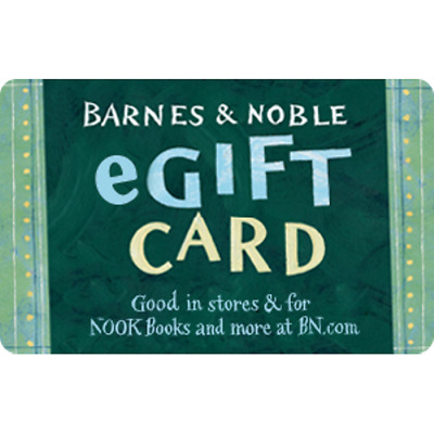 Barnes & Noble Gift Card $30 Value, Only $28.00! Free Shipping!