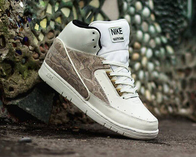 huge selection of d4643 ad375 2015 Mens Nike Air Python PRM SZ 11.5 Snakeskin Sail Metallic Gold  705067-100
