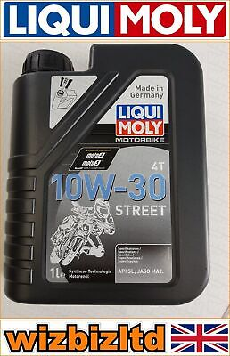 Liqui Moly 1L 10W-30 Synth Technology Engine Oil 4-Stroke For Street Use LQM2526