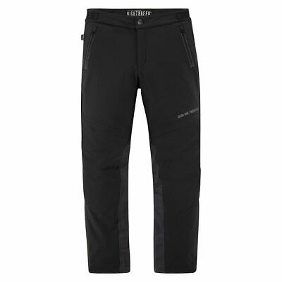 Icon 1000 Nightbreed Textile Motorcycle Pants Trousers Black | All Sizes