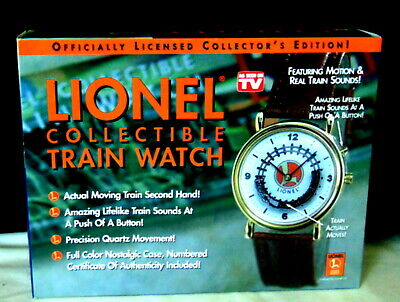 Lionel Trains Train Watch Officially Licensed Collector's Edition
