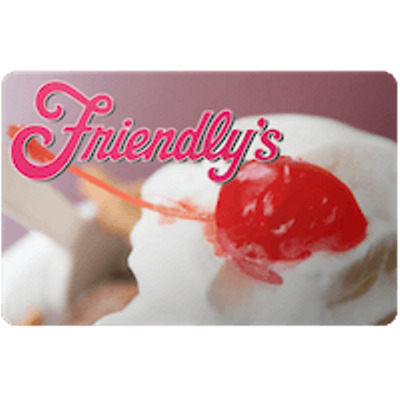 Friendly's Gift Card $25 Value, Only $23.50! Free Shipping!