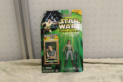 Star Wars Power of the Jedi Leia Organa Endor General Action Figure