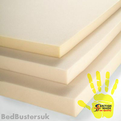 "2FT6 Small Single Memory Foam Mattress Toppers 1"", 2"", 3"", 4"", INCH"