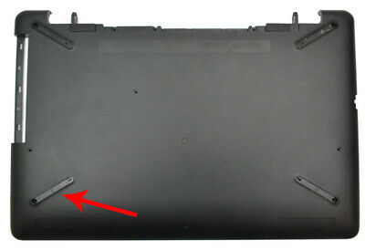 HP NOTEBOOK 11 15 OMEN 15 SERIES SILVER LAPTOP BOTTOM CASE COVER 856332-001 USA
