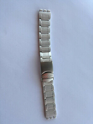 SWATCH Strap x IRONY BIG LOOMI BEAM IN THE NIGHT - YGS9008AG - 2003-NEW-ALUMINUM
