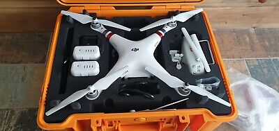 DJI Phantom 3 Advanced Drone - With Two Batteries & Hard Case  and accessories !