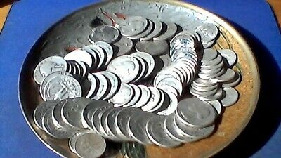 $1 Face value 90% silver US Coins. Mix lot of dimes & quarters