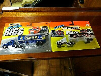 Matchbox Lot Of 2 Super Rigs - Planters & Pepsi