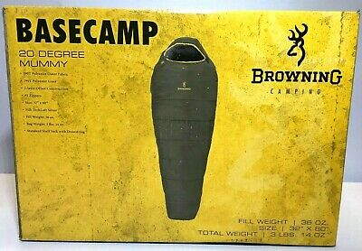 Browning Basecamp 20 Degree Mummy Sleeping Bag
