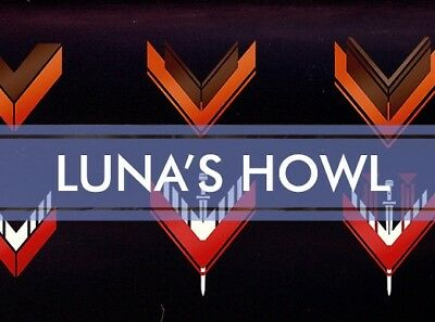 Destiny 2 Luna's Howl Recoveries/XB1&PS4/(Full quest) 100% Guaranteed