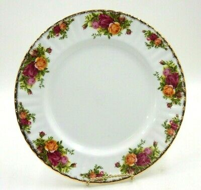 """Royal Albert Old Country Roses Dinner Plate Bone China 10.5"""" Plate - England"""