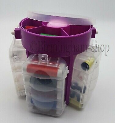 Sewing Kit 210 Pcs Storage Set Supplies Box Organizer Needle Accessories Buttons