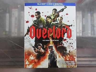 BRAND NEW Overlord (Blu Ray + DVD + Digital)