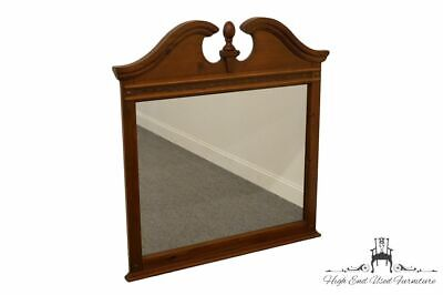 "STANLEY FURNITURE Cherry Pediment Top 50x47"" Dresser / Wall Mirror 790-1227"