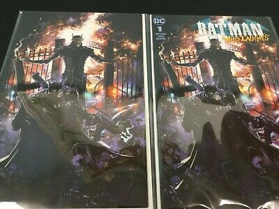 Batman Who Laughs 1 Clayton Crain Special Edition Virgin Variant Set - 500 Made!