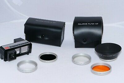 Polaroid 180 Accessory Kits - #593 Close up set, and Filter Kit with lens hood.
