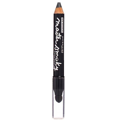 Maybelline Master Eye Shadow Pencil Smoky Grey + Smudger Sultry Smokey Effects