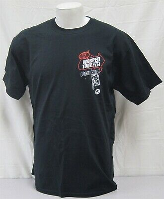 Vans Warped Tour Official Crew Shirt 2010 All American Rejects Alkaline Trio XL
