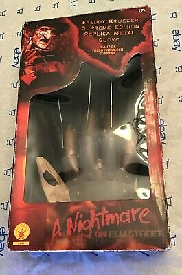 Freddy Krueger Supreme Edition Replica Metal Glove (Rubies Used with Box)