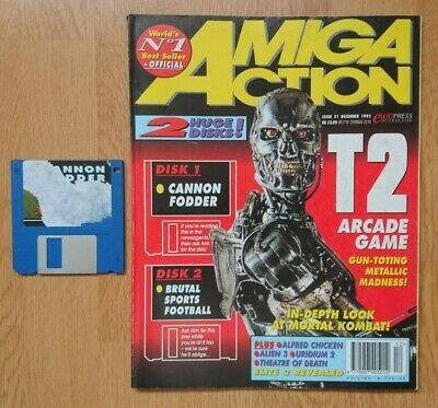 Amiga Action Magazine - Issue 51 - Dec 1993 - Disk 1 Tested, Disk 2 Missing