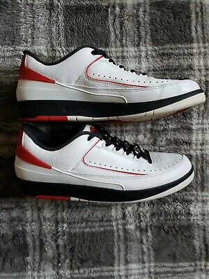 6122343e4a0d18 NIKE AIR JORDAN 2 II Black Chrome Size US13 308308-001 2004 parts ...
