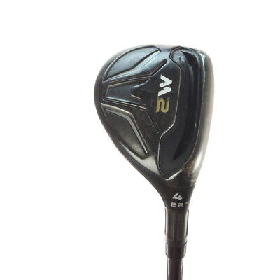 TaylorMade M2 4 Rescue 22 Degree REAX 75 Graphite Stiff flex Right-Handed 51757T