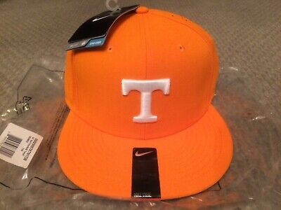 the latest ce45d c1bce Nike NCAA Tennessee Volunteers Authentic True Vapor Fitted Hat 7 3 8 NWT  Orange