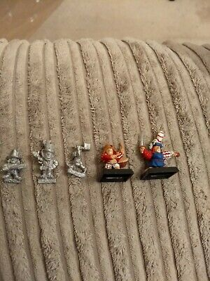 5x Halfling characters Games Workshop Citadel Warhammer Fantasy Empire n43