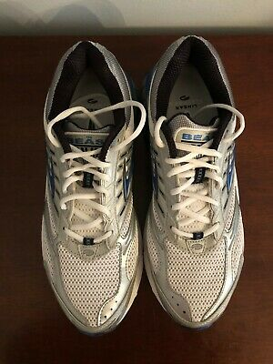 0de02a8ca87f7 Brooks Beast men s running shoes white silver size 12 excellent condition