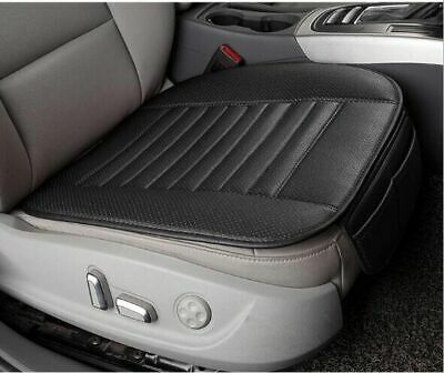 2pcs 3D Car PU Leather Seat Cover Breathable Pad Mat For Auto Chair Cushion NEW