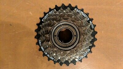 6d6f7a4330f SHIMANO MF-TZ21 14-28 Teeth 7 Speed Freewheel - $8.50 | PicClick