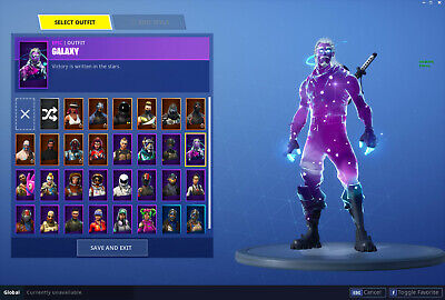 Fortnite Cracked Account With Galaxy Skin Fortnite Launch