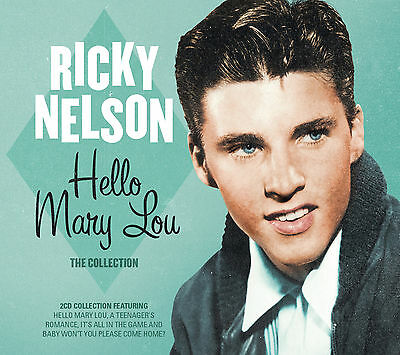 RICKY NELSON New Sealed 2019 GREATEST HITS & MORE 40 SONG 2 CD SET