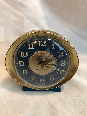 Vintage Westclox Baby Ben Repeater Alarm Clock For Parts Or Restoration
