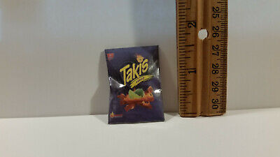 Barbie Doll 1:6 Kitchen Food Miniature Bag of Fuego Tapis Chips